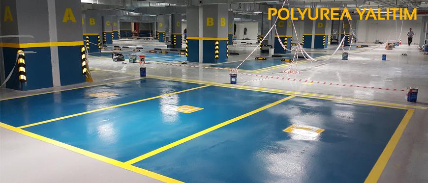 Garajlarda Polyurea su yalıtımı