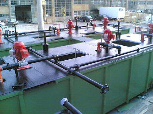 çamur tanklarında Polyurea su yalıtımı