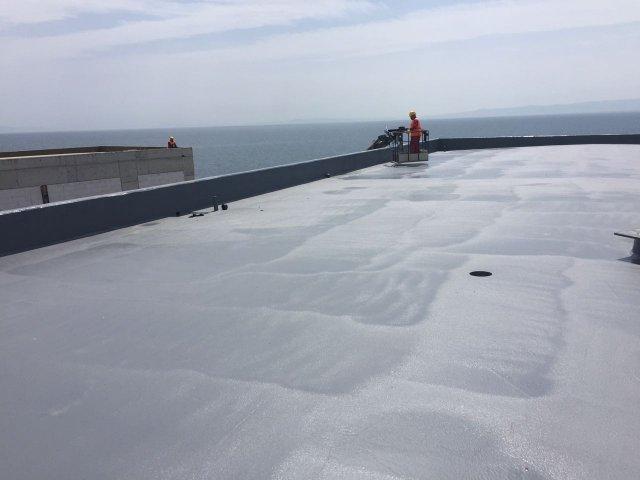 Çatı kaplamalarında Polyurea su yalıtımı