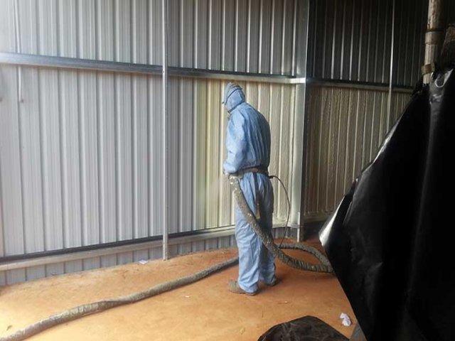 Çelik ve Alüminyum polyurea su yalıtımı