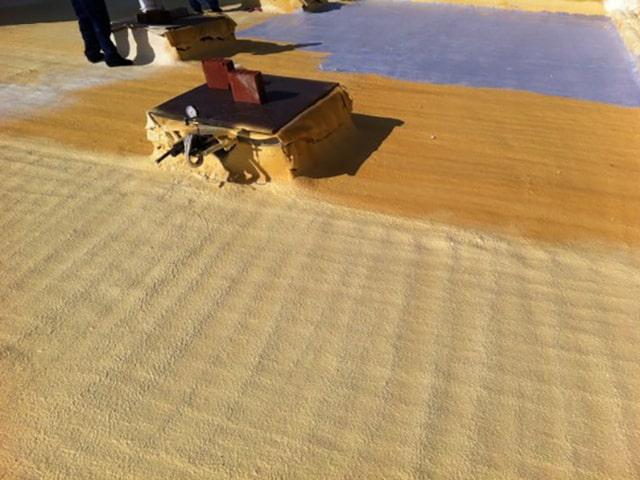 Poliüretan köpük teras yalıtımı