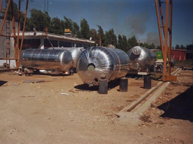 Poliüretan köpük tank ve boru izolasyonu