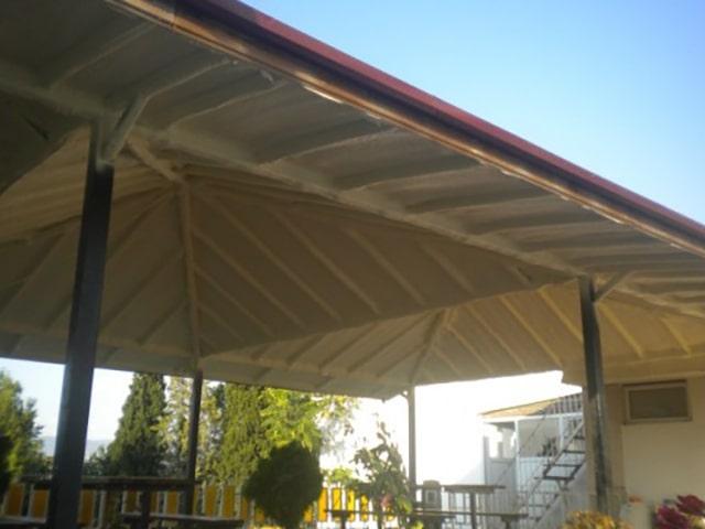 Poliüretan köpük atermit çatı tavan yalıtımı