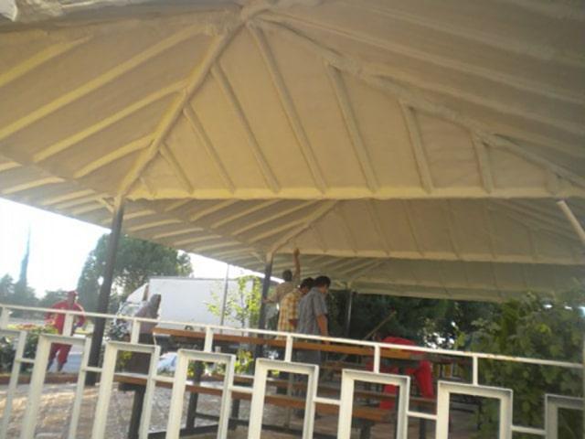 Poliüretan köpük osb altı ters çatı
