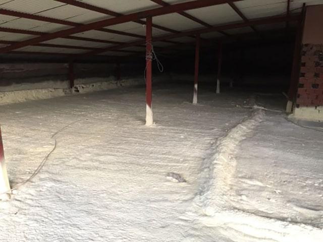 Poliüretan köpük çatı arası yalıtımı